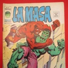 Cómics: HULK (1975, VERTICE) -LA MASA- 3 · II-1976 · UN TITAN FURIOSO SOBRE LA TIERRA. Lote 252993390