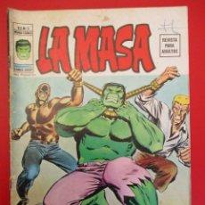 Cómics: HULK (1974, VERTICE) -LA MASA- 5 · I-1975 · ENTRE EL MARTILLO Y EL YUNQUE. Lote 252996455