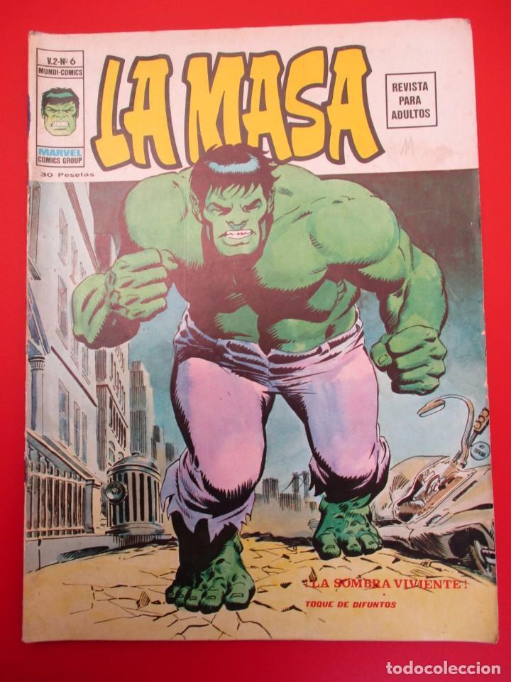 HULK (1974, VERTICE) -LA MASA- 6 · II-1975 · LA SOMBRA VIVIENTE (Tebeos y Comics - Vértice - La Masa)