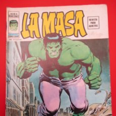 Cómics: HULK (1974, VERTICE) -LA MASA- 6 · II-1975 · LA SOMBRA VIVIENTE. Lote 252997560