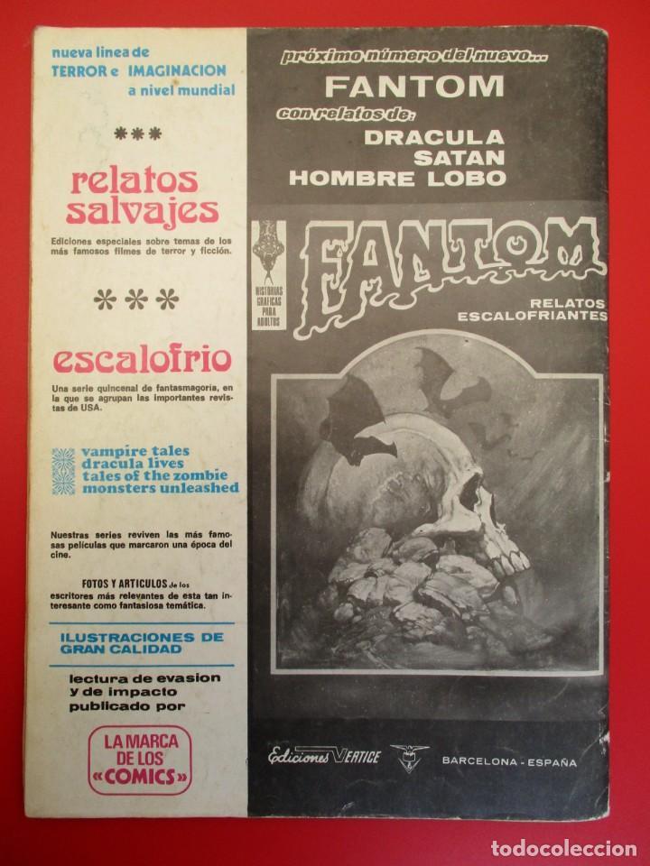 Cómics: HULK (1974, VERTICE) -LA MASA- 6 · II-1975 · LA SOMBRA VIVIENTE - Foto 3 - 252997560