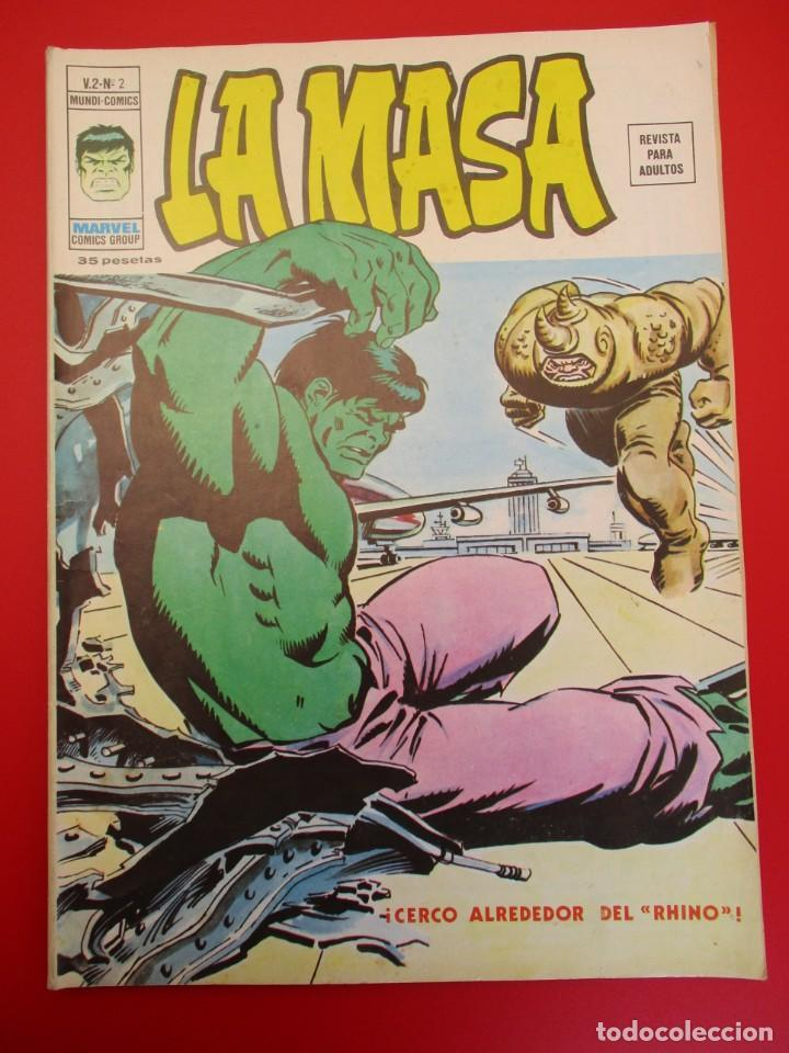 HULK (1974, VERTICE) -LA MASA- 2 · X-1974 (Tebeos y Comics - Vértice - La Masa)