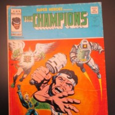 Cómics: SUPER HEROES (1974, VERTICE) 76 · 1976 · THE CHAMPIONS. Lote 253001235