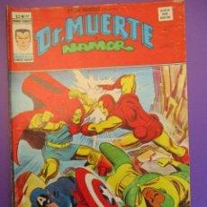 Cómics: SUPER HEROES (1974, VERTICE) 69 · 1976 · DR. MUERTE Y NAMOR. PEONES DE ATTUMA. Lote 253004095
