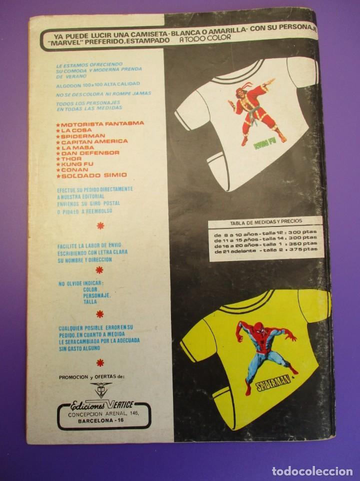 Cómics: SUPER HEROES (1974, VERTICE) 69 · 1976 · DR. MUERTE Y NAMOR. PEONES DE ATTUMA - Foto 3 - 253004095
