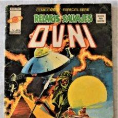 Cómics: RELATOS SALVAJES Nº 56 - V.1 - OVNI - MUNDI-COMICS AÑO 1978. Lote 253012680