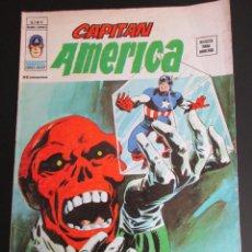 Cómics: CAPITAN AMERICA (1975, VERTICE) 8 · VII-1976 · EL HOMBRE TRAS LA MASCARA. Lote 253013390