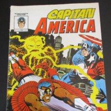 Cómics: CAPITAN AMERICA (1981, VERTICE) 7 · III-1982 · AGRON ANDA POR LA TIERRA. Lote 253013900