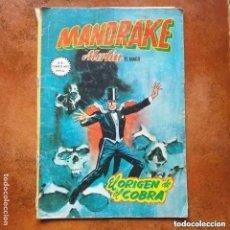 Cómics: MANDRAKE NUM 5 EL ORIGEN DE EL COBRA. Lote 253030955