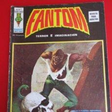 """Cómics: FANTOM (1974, VERTICE) -V.2- 1 · 15-XI-1974 · HIELO Y FUEGO INFERNAL / SÁBADO NEGRO / """"Y AL FINAL.... Lote 253200570"""