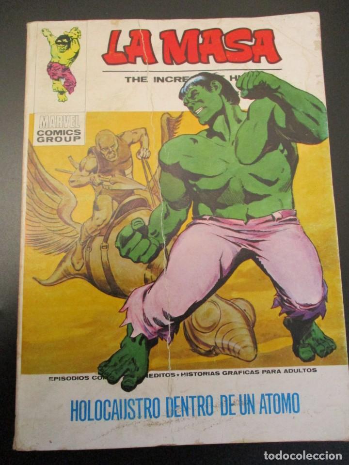 HULK (1970, VERTICE) -LA MASA- 27 · 1973 · HOLOCAUSTO DENTRO DE UN ATOMO (Tebeos y Comics - Vértice - La Masa)