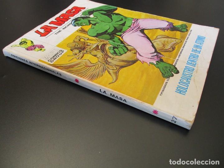 Cómics: HULK (1970, VERTICE) -LA MASA- 27 · 1973 · HOLOCAUSTO DENTRO DE UN ATOMO - Foto 2 - 253436895