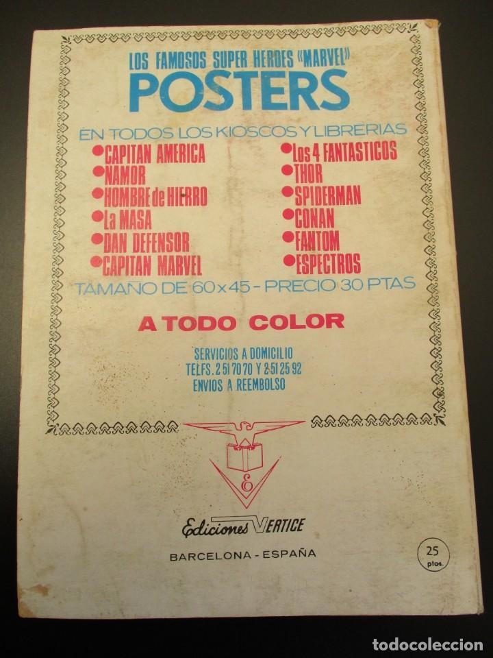 Cómics: HULK (1970, VERTICE) -LA MASA- 27 · 1973 · HOLOCAUSTO DENTRO DE UN ATOMO - Foto 3 - 253436895