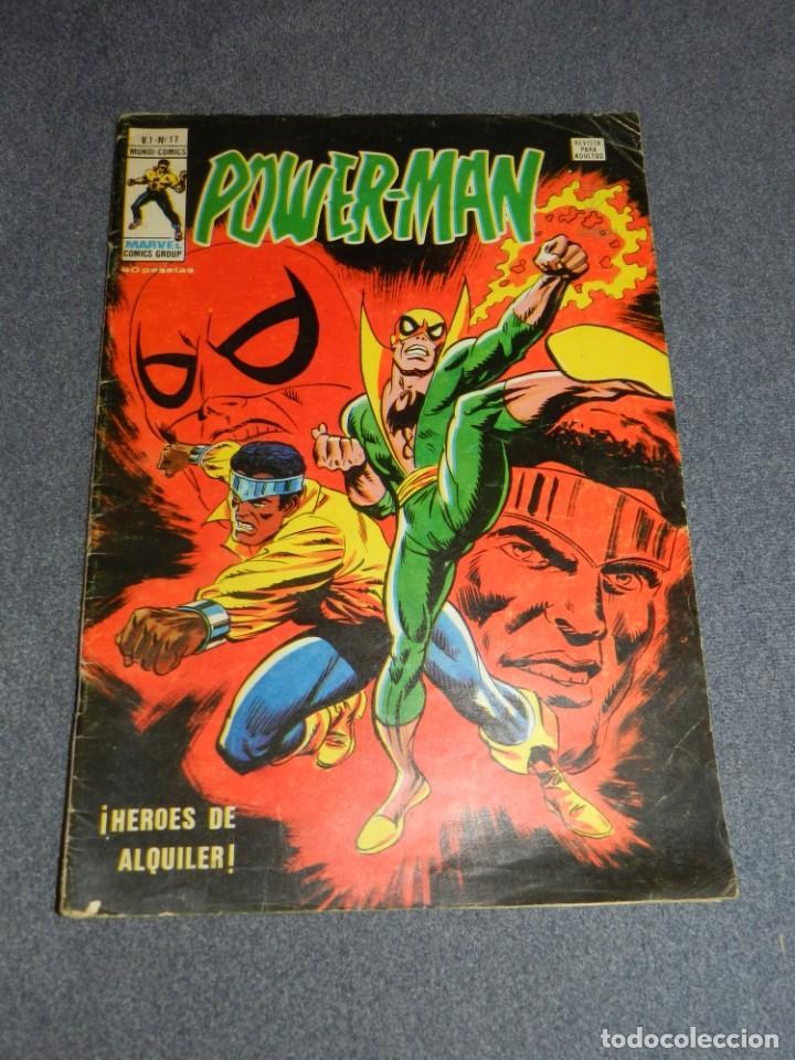 (M15) POWER-MAN V.1 N.17, EDICIONES VERTICE AÑO 1979, SEÑALES DE USO (Tebeos y Comics - Vértice - Otros)