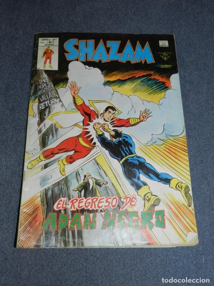 (M15) SHAZAM VOL.1 N.15, EDICIONES VERTICE AÑO 1980, SEÑALES DE USO (Tebeos y Comics - Vértice - Otros)