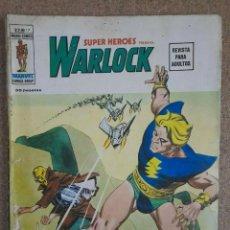 Cómics: SUPER HEROES PRESENTA.VOL.2.NUM.17.WARLOCK.VERTICE. Lote 253629055
