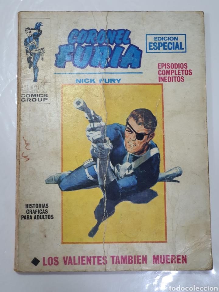 CORONEL FURIA, VÉRTICE VOL. 1, N 10 , LOS VALIENTES TAMBIÉN MUEREN (Tebeos y Comics - Vértice - Furia)