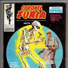 Cómics: CORONEL FURIA Nº 12 - TACO - ENEMIGO INTERIOR - VÉRTICE 1972. Lote 253772315