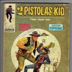 Cómics: DOS PISTOLAS KID Nº 7 - TACO - UN GIGANTE LLAMADO GOLIAT - VÉRTICE 1970. Lote 253772970