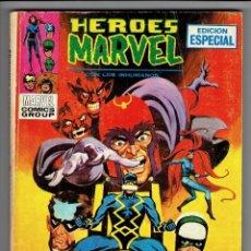 Cómics: HÉROES MARVEL Nº 7 - TACO - LA LOCURA DE MAGNETO - VÉRTICE 1972. Lote 253773930