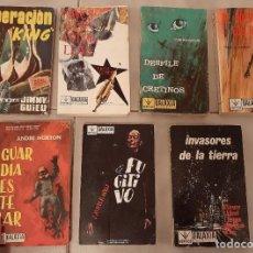 Cómics: LOTE 7 ANTIGUO LIBRO EDICIONES VERTICE GALAXIA CIENCIA FICCION TACO 2,21,26,29,33,43,44 TACO. Lote 253787500