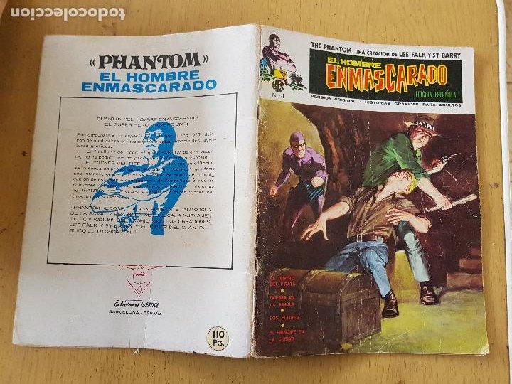 Nº4 EDICION ESPAÑOLA (Tebeos y Comics - Vértice - Hombre Enmascarado)