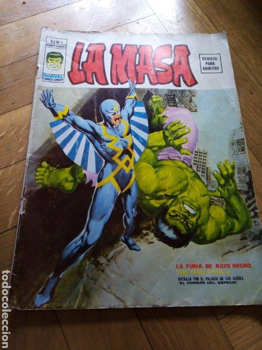 LA MASA VOL 2 NÚM 1. VÉRTICE (Tebeos y Comics - Vértice - La Masa)