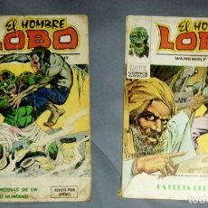 Cómics: LOTE 2 EL HOMBRE LOBO VÉRTICE 1973. Lote 254145545
