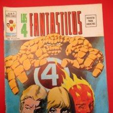 Cómics: 4 FANTASTICOS, LOS (1974, VERTICE) -V.2- 8 · II-1975 · ULTRON-1. Lote 254149585