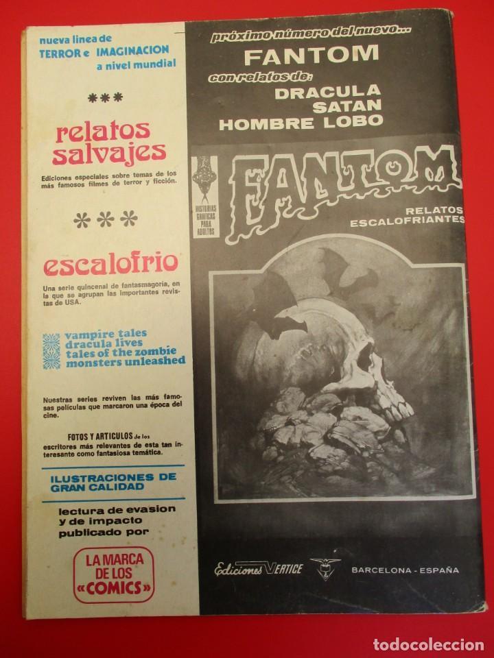 Cómics: 4 FANTASTICOS, LOS (1974, VERTICE) -V.2- 8 · II-1975 · ULTRON-1 - Foto 3 - 254149585