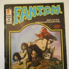 Cómics: FANTOM (1972, VERTICE) 6 · 1972 · LA TUMBA DEL HORROR. Lote 254176650