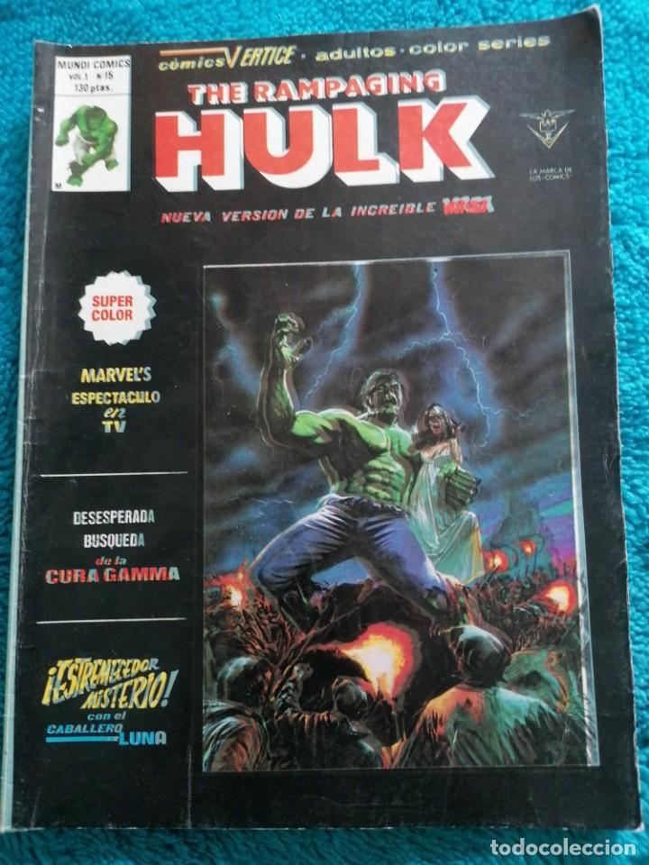 RAMPAGING HULK (Tebeos y Comics - Vértice - La Masa)