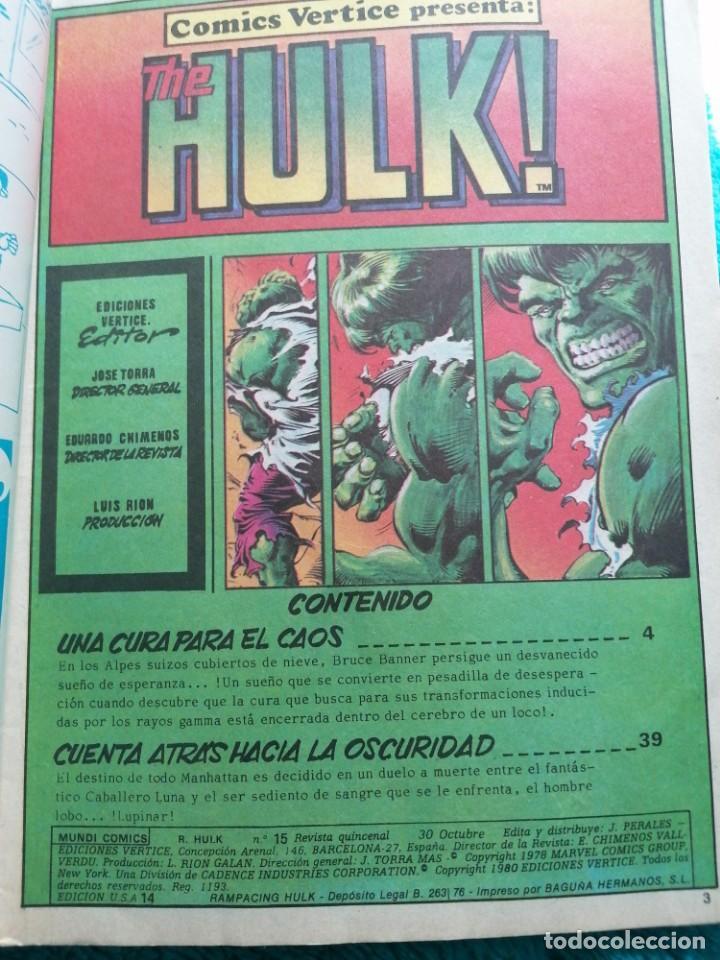 Cómics: RAMPAGING HULK - Foto 4 - 254194375