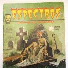 Cómics: ESPECTROS / ESPECTRO (1972, VERTICE) 2 · 1972 · EL OJO DEL INFIERNO. Lote 254232395