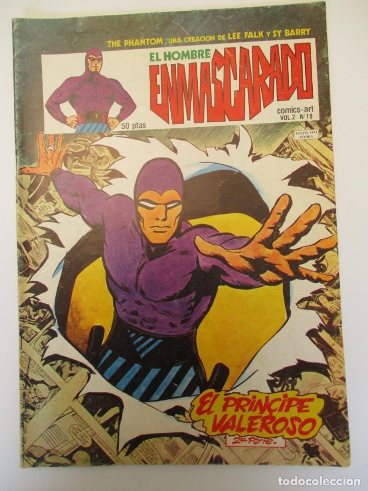 HOMBRE ENMASCARADO, EL (1980, VERTICE) -VOL. 2- 19 · 15-XII-1980 · EL PRINCIPE VALEROSO (2ª PARTE) (Tebeos y Comics - Vértice - Hombre Enmascarado)