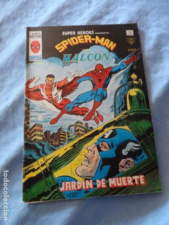 SUPER HEROES Nº 98 SPIDERMAN Y EL HALCON VOLUMEN 2 EDICIONES VERTICE (Tebeos y Comics - Vértice - Super Héroes)