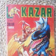 Cómics: KAZAR 1983 TOMO RETAPADO CON Nº 1 2 3 4 Y 5 ( VÉRTICE SURCO COLOR LÍNEA 83 ). Lote 254284610