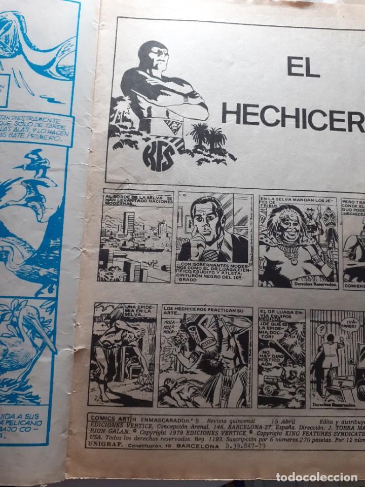 Cómics: EL HOMBRE ENMASCARADO.VÉRTICE- VOL-2- Nº 5 -FALK-SY BARRY-1980-MUY DIFÍCIL-CASI BUENO-LEA-4558 - Foto 4 - 254422860