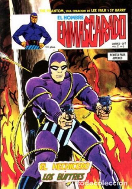 EL HOMBRE ENMASCARADO.VÉRTICE- VOL-2- Nº 5 -FALK-SY BARRY-1980-MUY DIFÍCIL-CASI BUENO-LEA-4558 (Tebeos y Comics - Vértice - Hombre Enmascarado)