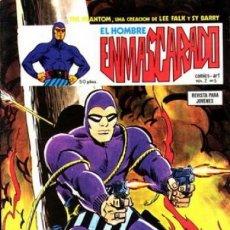 Cómics: EL HOMBRE ENMASCARADO.VÉRTICE- VOL-2- Nº 5 -FALK-SY BARRY-1980-MUY DIFÍCIL-CASI BUENO-LEA-4558. Lote 254422860