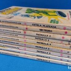 Cómics: LOTE VERTICE 9 TACO PATRULLA X METEORO Y ESTELA PLATEADA. Lote 254429075