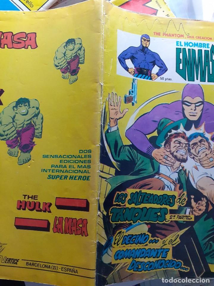 Cómics: EL HOMBRE ENMASCARADO-VÉRTICE- V-2 - Nº 11 -LOS SALTEADORES DE TANQUES-1980-MUY DIFÍCIL-LEA-4559 - Foto 3 - 254429085