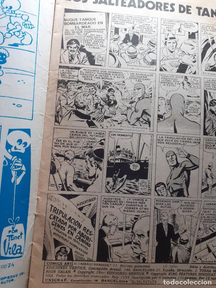 Cómics: EL HOMBRE ENMASCARADO-VÉRTICE- V-2 - Nº 11 -LOS SALTEADORES DE TANQUES-1980-MUY DIFÍCIL-LEA-4559 - Foto 4 - 254429085