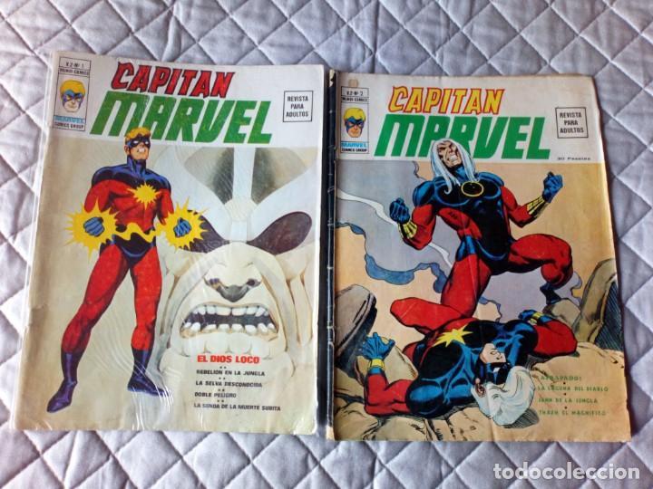 CAPITÁN MARVEL VOL. 2 COMPLETA (2 CÓMICS) VERTICE (Tebeos y Comics - Vértice - V.2)