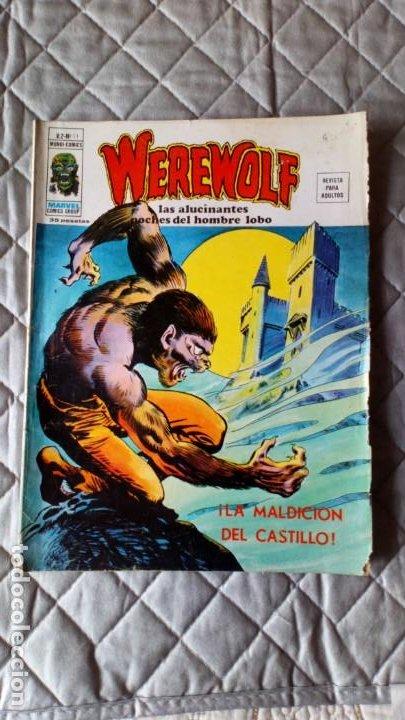 WEREWOLF (HOMBRE LOBO) VOL. 2 Nº 11 VERTICE (Tebeos y Comics - Vértice - V.2)