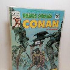 Cómics: COMIC RELATOS SALVAJES CONAN: LA LEGIÓN DE LOS MUERTOS EDIT. VERTICE. Lote 254580975