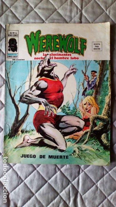 WEREWOLF (HOMBRE LOBO) VOL. 2 Nº 16 VERTICE DIFÍCIL (Tebeos y Comics - Vértice - V.2)