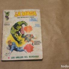 Cómics: LA MASA Nº 3, VOLUMEN 1, 128 PÁGINAS, EDITORIAL VÉRTICE. Lote 254766100
