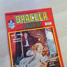 Cómics: EXCELENTE ESTADO ESCALOFRIO 28 DRACULA LIVES 7 COMICS VERTICE. Lote 254862185