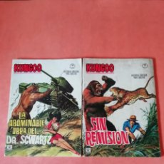 Cómics: KUNGOO. Nº 1 Y 2 . EDICIONES VERTICE. GRAPA. 1966. DIFICIL.. Lote 254887160